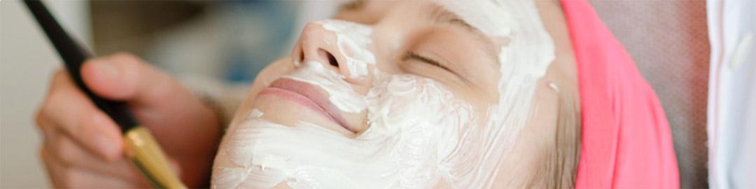 Kosmetische Gesichtsbehandlung auf Langeoog